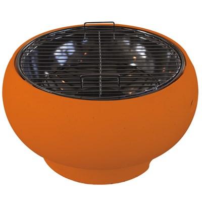 Pod Table Top Bbq, Brazier u0026 Fire Pit In Orange - Bbqu0026#39;s : Cuckooland
