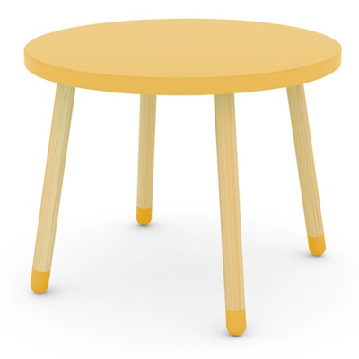 FLEXA KIDS PLAY TABLE in Yellow