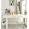 Contemporary White Dressing Table