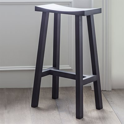 GARDEN TRADING TALL CLOCKHOUSE STOOL in Carbon