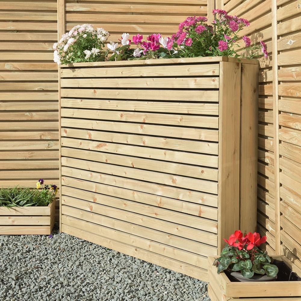Grange Contemporary Wooden Planter