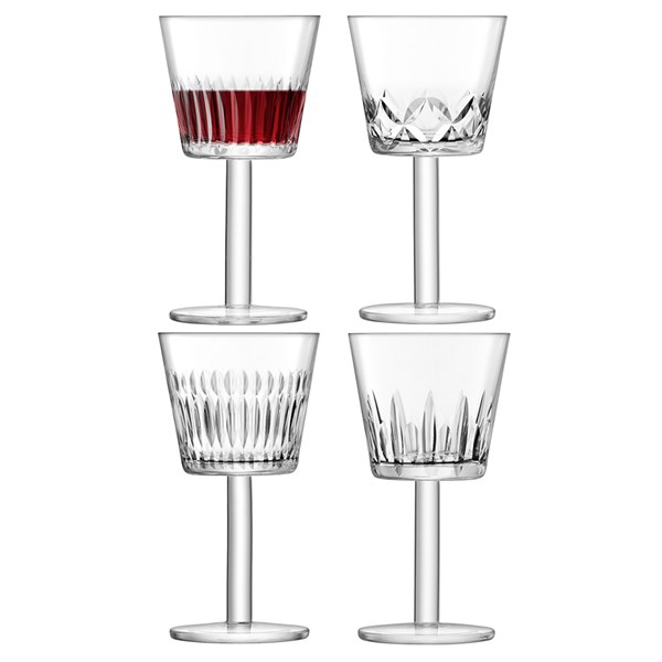 LSA International Tatra Wine Goblet Glasses Set