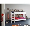 Unique Tam Tam Childrens Bunk Bed in White & Grey