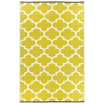 Tangier Celery White Outdoor Rug L ...