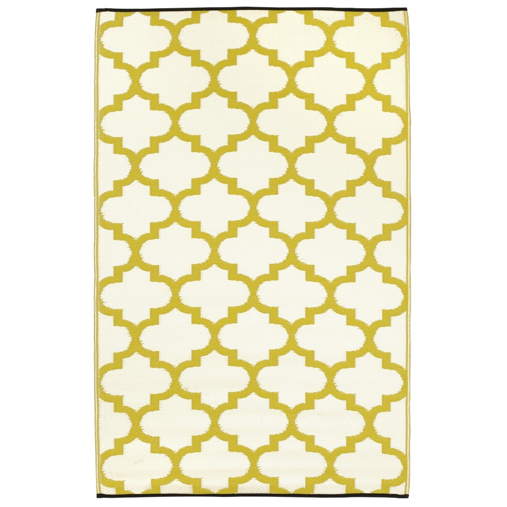 Tangier outdoor rugs in celery white outdoor rugs - Alfombra para exterior ...
