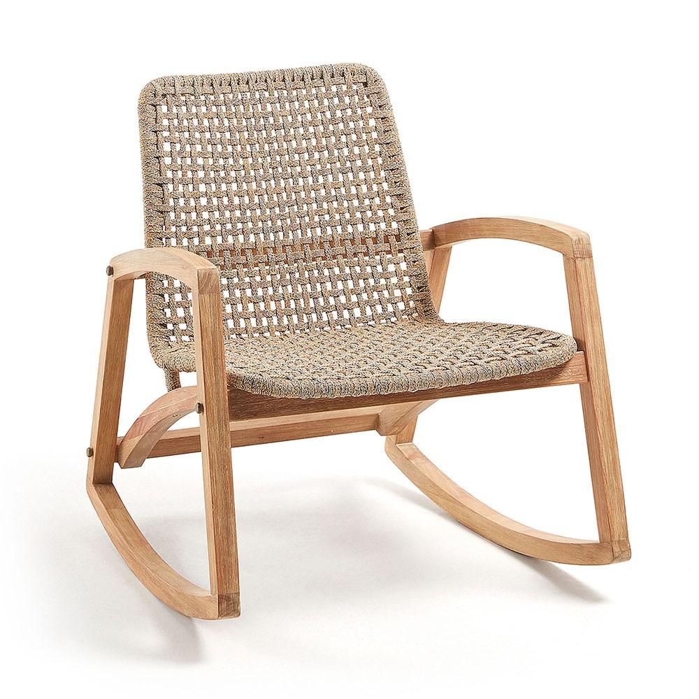 Magnificent Taniska Eucalyptus Rocking Chair Cjindustries Chair Design For Home Cjindustriesco