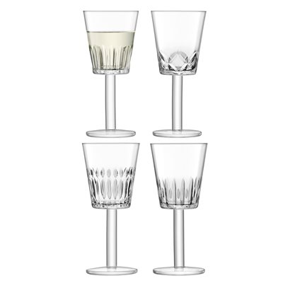 LSA TATRA WINE GLASSES set of 4