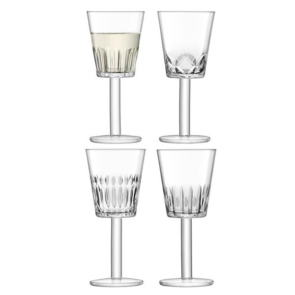 LSA International Tatra Wine Glasses Set