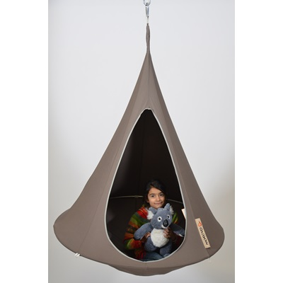 Bonsai Cacoon Kids Hanging Chair In Taupe - Hanging Chairs ...