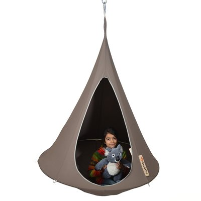 BONSAI CACOON KIDS HANGING CHAIR in Taupe