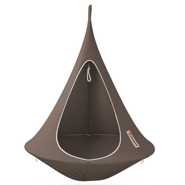 Single Hanging Cacoon in Taupe