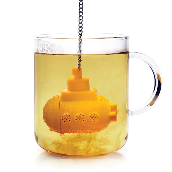 Yellow Submarine Tea Infuser for Loose Tea
