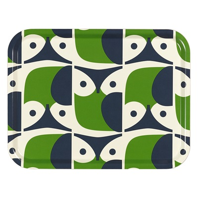 ORLA KIELY LARGE TRAY in Owl Print