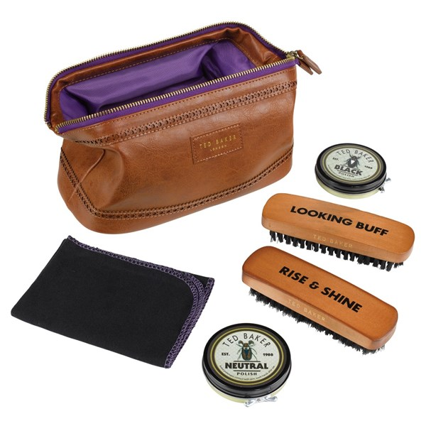 Ted Baker Shoe Shine Kit and Case