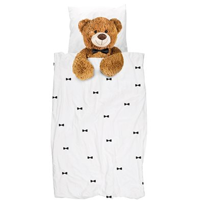 SNURK Childrens Teddy Bear Duvet Bedding Set