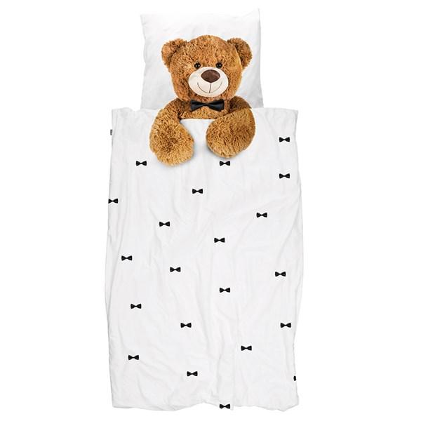 SNURK Childrens Teddy Bear Duvet Bedding Set