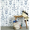 Wallpaper in Indian Teepee Design