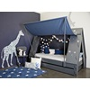 Mathy By Bols Childrens Tent Bed in Blue in Themed Bedroom