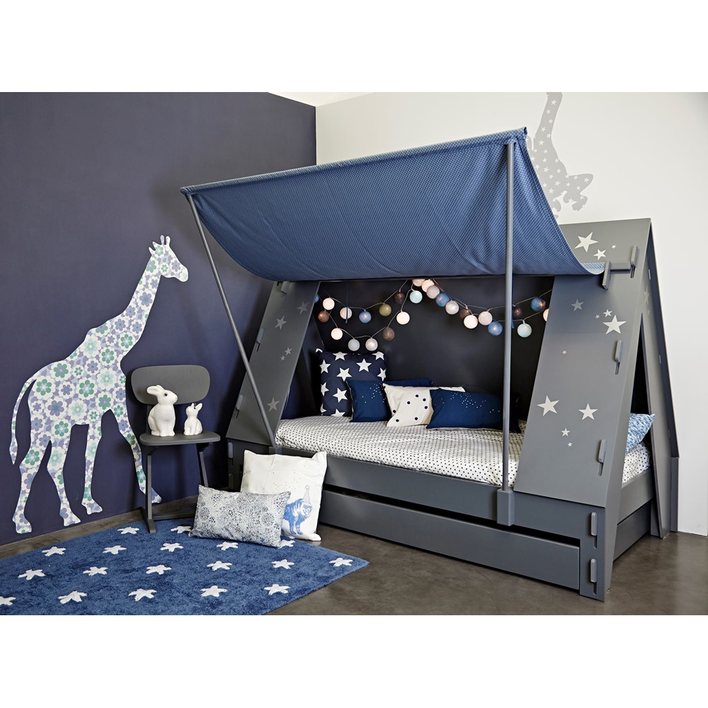 Childrens Tent Cabin Bed In Green By Mathy By Bols
