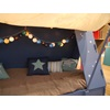 Add Cool Lights Inside the Kids Cabin Tent Bed