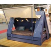 Kids Tent Cabin Bed in Blue