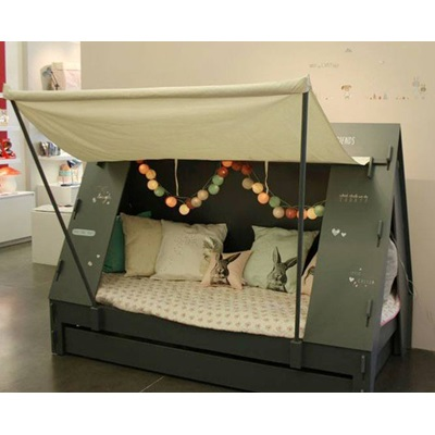 Kids Bedroom Tent childrens tent cabin bed in greenmathybols | cuckooland
