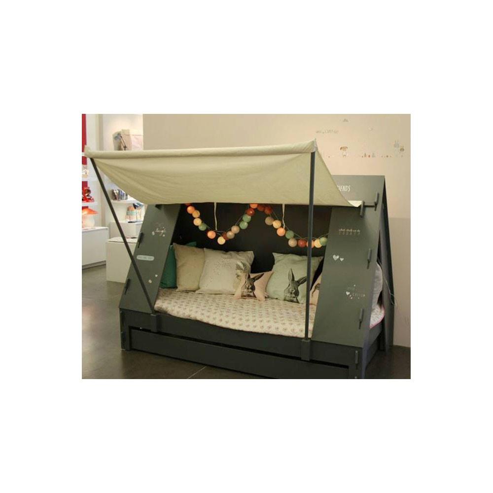 Cabin beds spiderman spiderman cabin bed with slide -  Tent Cabin Bed Artichoke Jpg