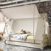 Mathy by Bols Tent Cabin Bed Available in 26 Colours - Mathy Raw