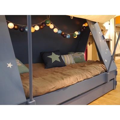 Kids Bedroom Tent childrens tent cabin bed in greenmathybols   cuckooland