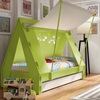 Unique Enclosed Beds for Kids- Childrens Cabin Bed