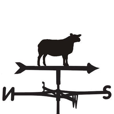 WEATHERVANE in Texel Sheep Design