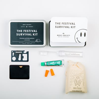MEN'S SOCIETY FESTIVAL SURVIVAL KIT