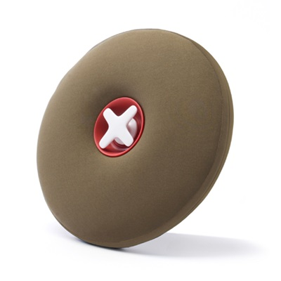 PILL Hot Water Bottle in Olive Green