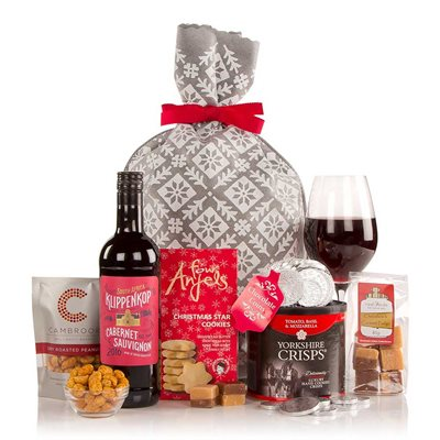 The Snowy Christmas Sack Luxury Gift Hamper