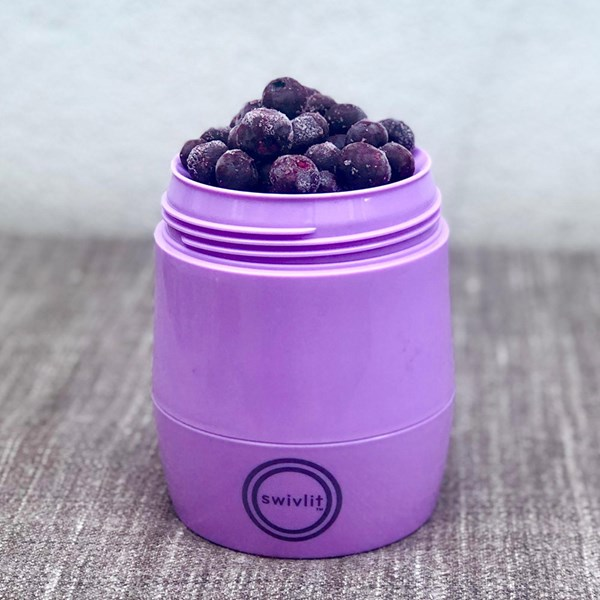 Microwave and Dishwasher Safe Food Flask from Swivlit