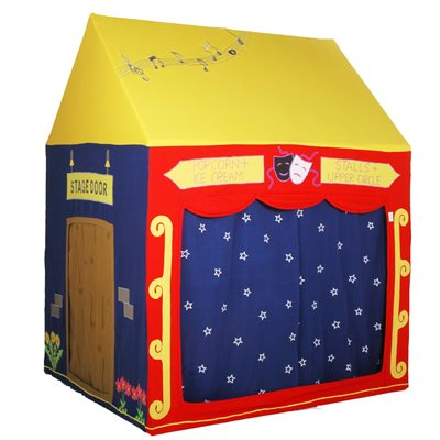 THEATRE PLAY HOUSE WITH MATCHING QUILT by Win Green