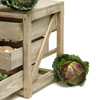 Small Kitchen Storage Unit for Vegetables