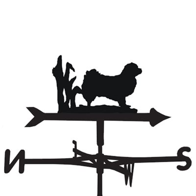 Weathervane in Tibetan Spaniel Design