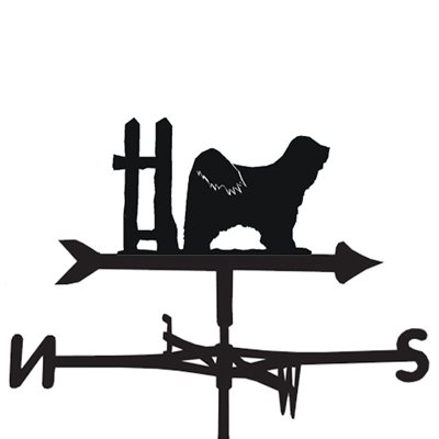 Weathervane in Tibetan Terrier Design