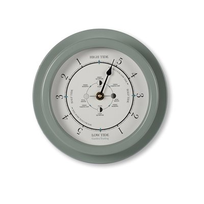 TIDE CLOCK in Shutter Blue by Garden Trading