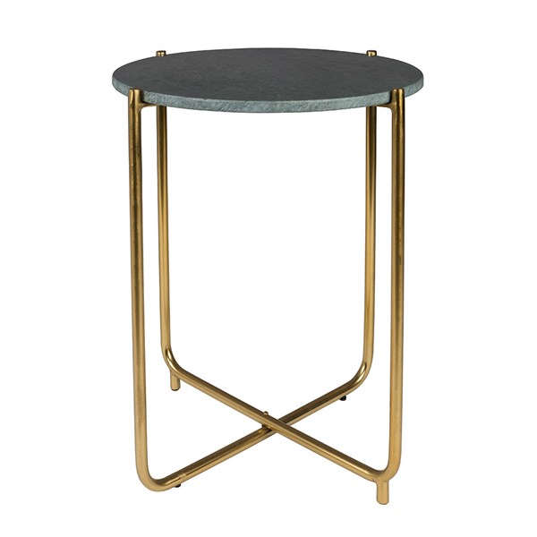 Timpa Marble Side Table in Green