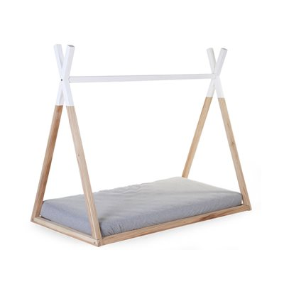 CHILDREN'S TIPI WOODEN COT BED FRAME