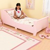 Girls Toddler Bed in pink