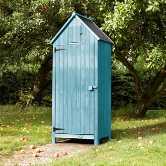 Beach Hut Tool Shed In Blue Garden Accessories Cuckooland