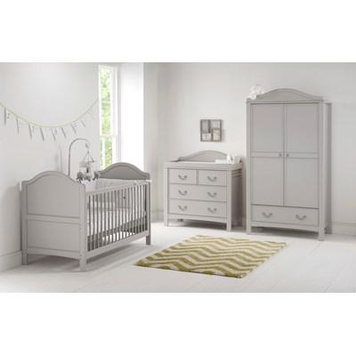 East Coast Toulouse Nursery \u0026 Baby\u002639;s 3pc Room Set  Cots \u0026 Cot Beds