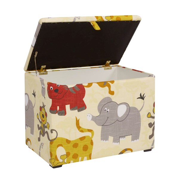 Unique Patterned Toy Box