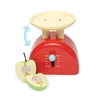 Honeybake Red Weighing Scales