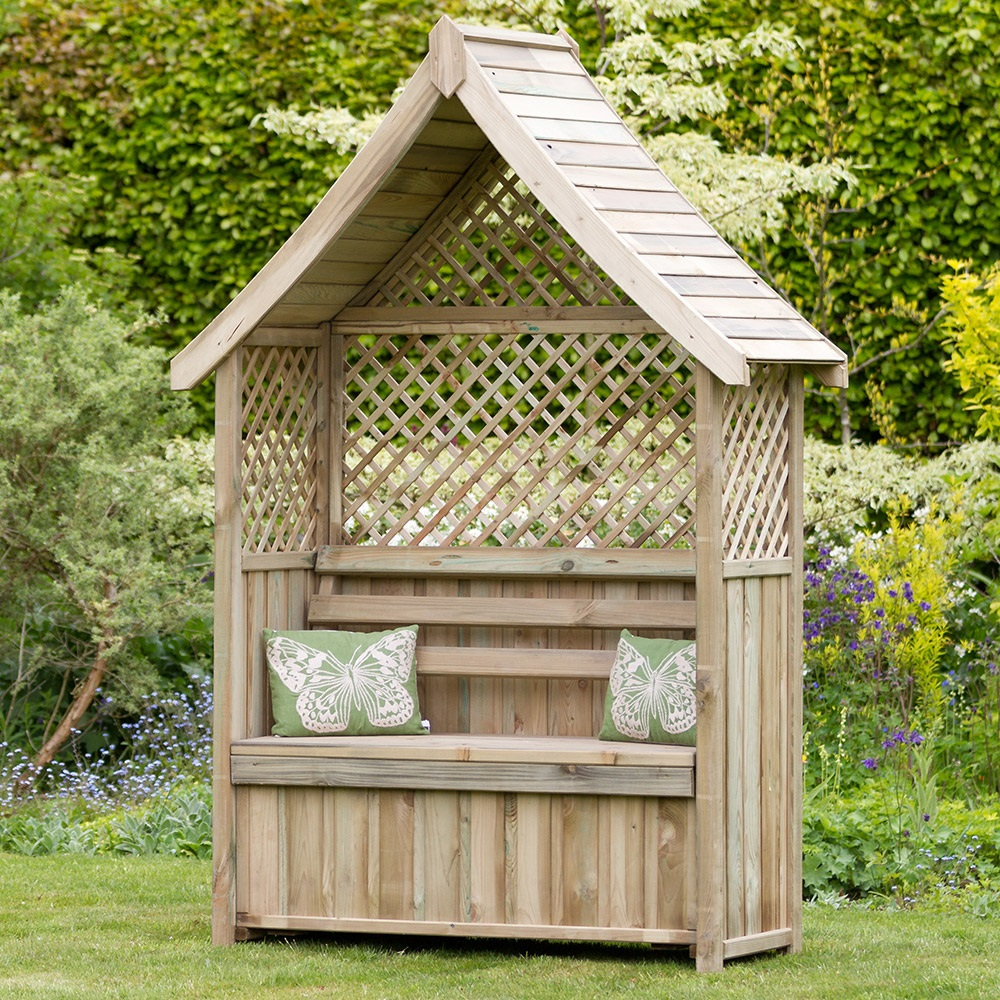 Amazing Nantillo Garden Arbour With Storage Box Pdpeps Interior Chair Design Pdpepsorg
