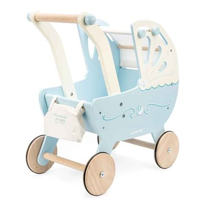 Le Toy Van Moonlight Pram in Blue