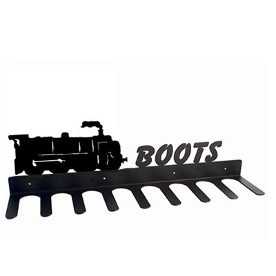 BOOT RACK in Train Design